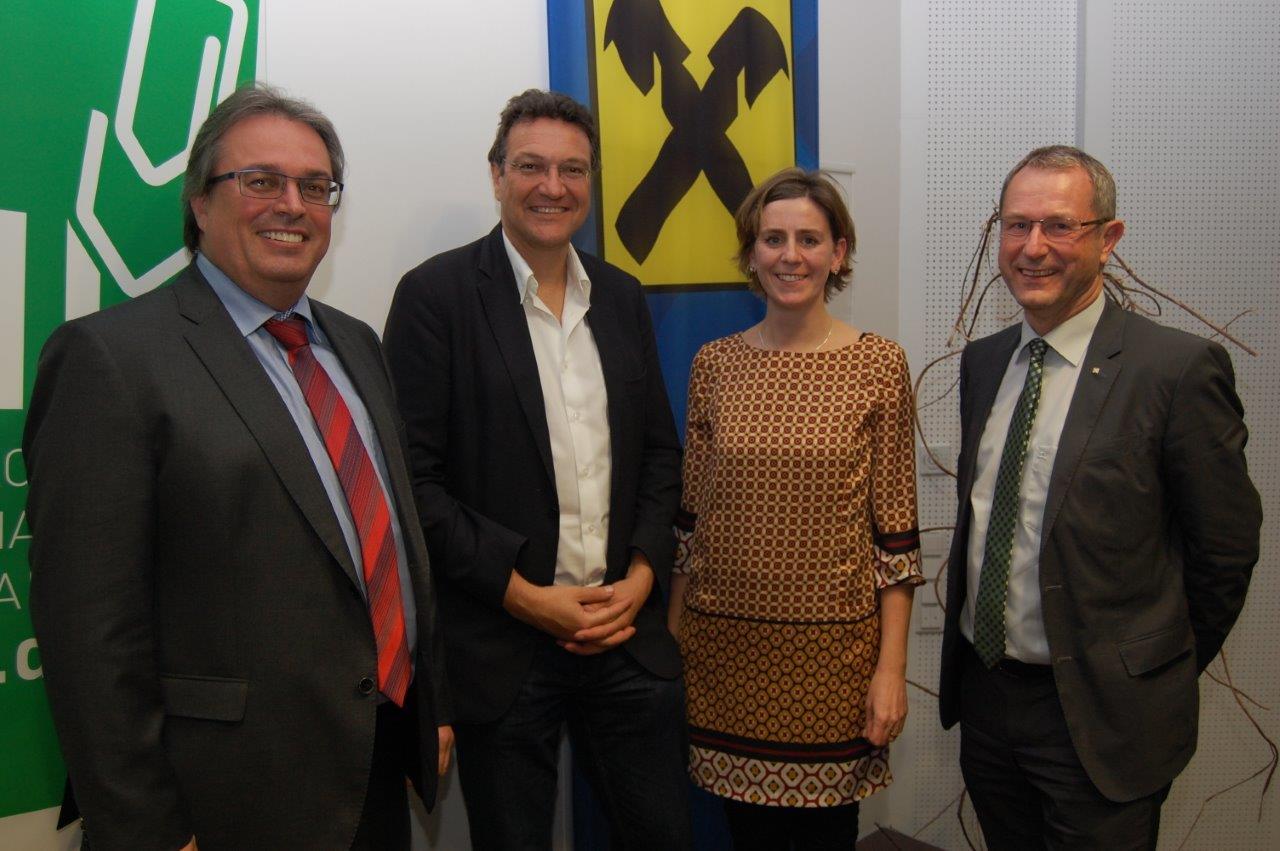 Hannes Wohlmacher, Karim El-Gawhary, Doris Dim-Knoglinger, Hans Moser