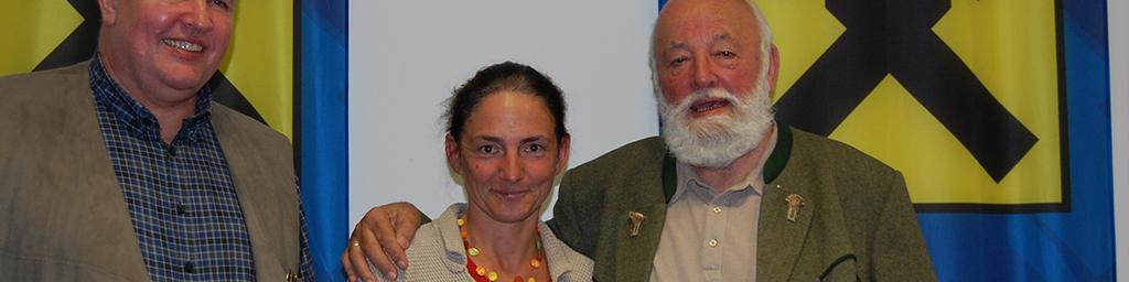 Sepp Forcher zu Gast in Ried ! (Oktober 2015)