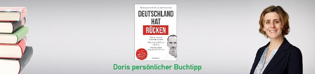 Deutschland hat Rücken von Roland Liebscher-Bracht und Petra Bracht