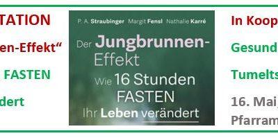 Der Jungbrunneneffekt – Buchpräsentation