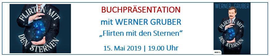 Buchpräsentation mit Werner Gruber, Flirten mit den Sternen