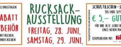 1. DIM-RUCKSACKAUSSTELLUNG 28. und 29. Juni
