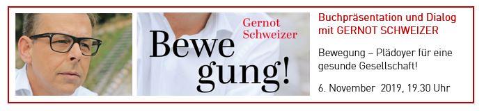 Bewegung! – Buchpräsentation mit Gernot Schweizer