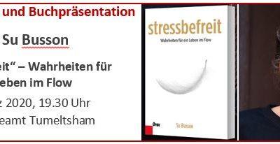 stressbefreit – Vortrag und Buchpräsentation mit Su Busson