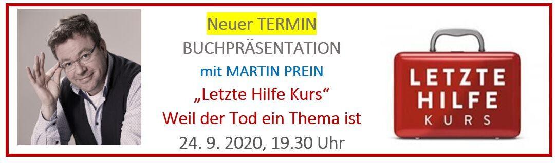 Letzte Hilfe Kurs mit Martin Prein – Sep 2020