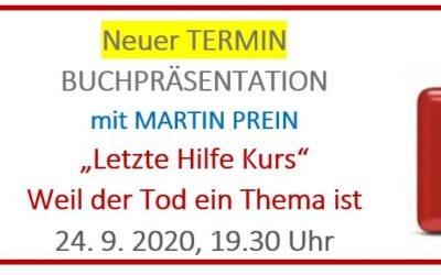 Neuer Termin: Letzte Hilfe Kurs mit Martin Prein –
