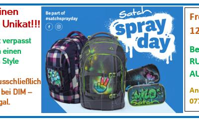 Satch Sprayday beim DIM, 25. Juni